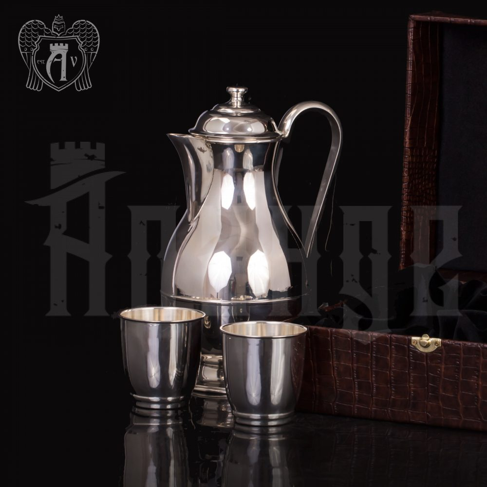 Набор для воды серебряный «Греджио» Апанде, 11100655