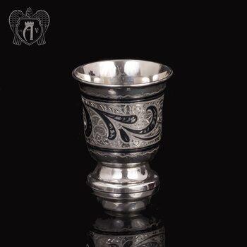 Серебряная стопка «Веточка»