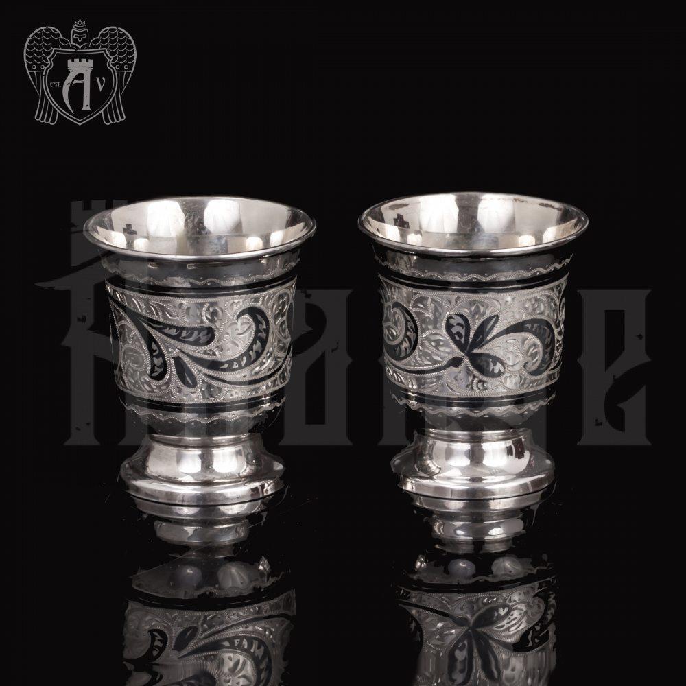 Серебряная стопка «Веточка» 45 мл Апанде, 8900091