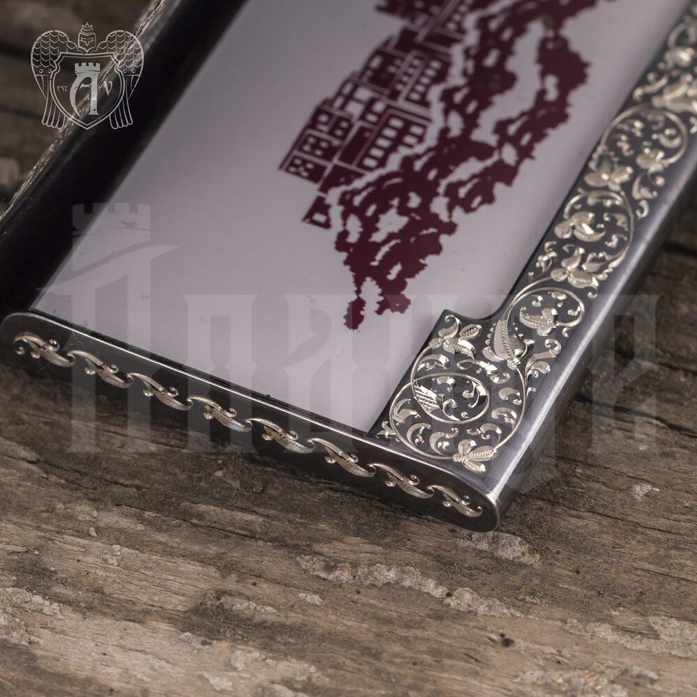 Визитница серебряная «Excelsior» Апанде, 91003212