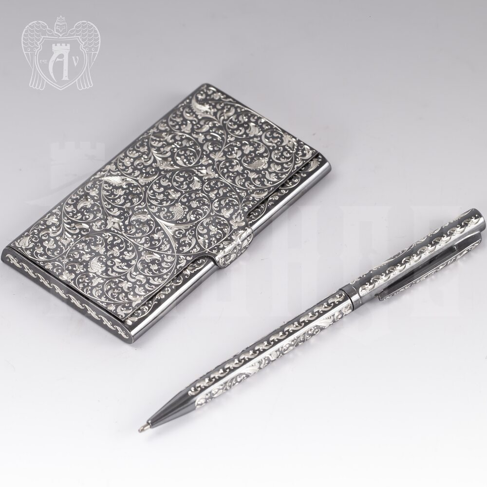 Ручка серебряная «Excelsior» Апанде, 13003212