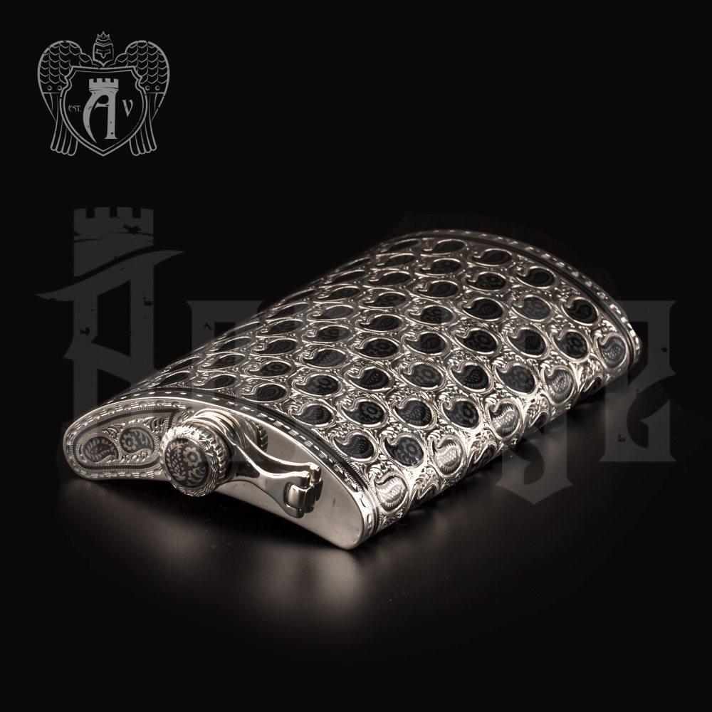 Серебряная фляжка «Эстет» Апанде, 72000191