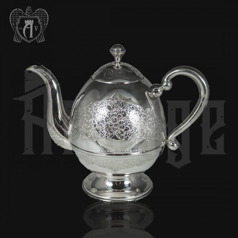 Серебряный заварочный  чайник « Маэстро» Апанде, 250003