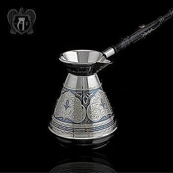 Серебряная турка\джезва «Марокко»