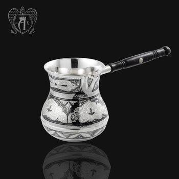 Турка\джезва серебряная «Стамбул»