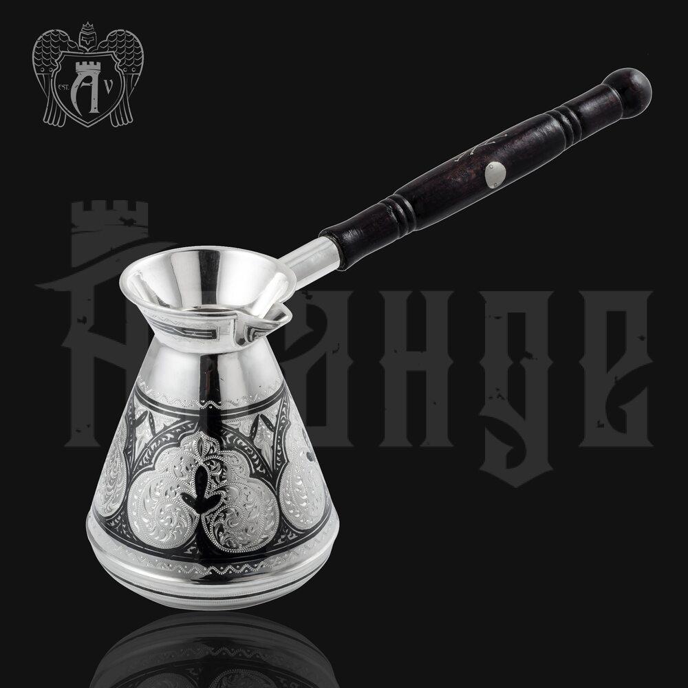 Серебряная турка «Кофеман» Апанде, 390006