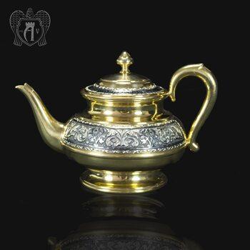 Серебряный чайник «Валенсия»