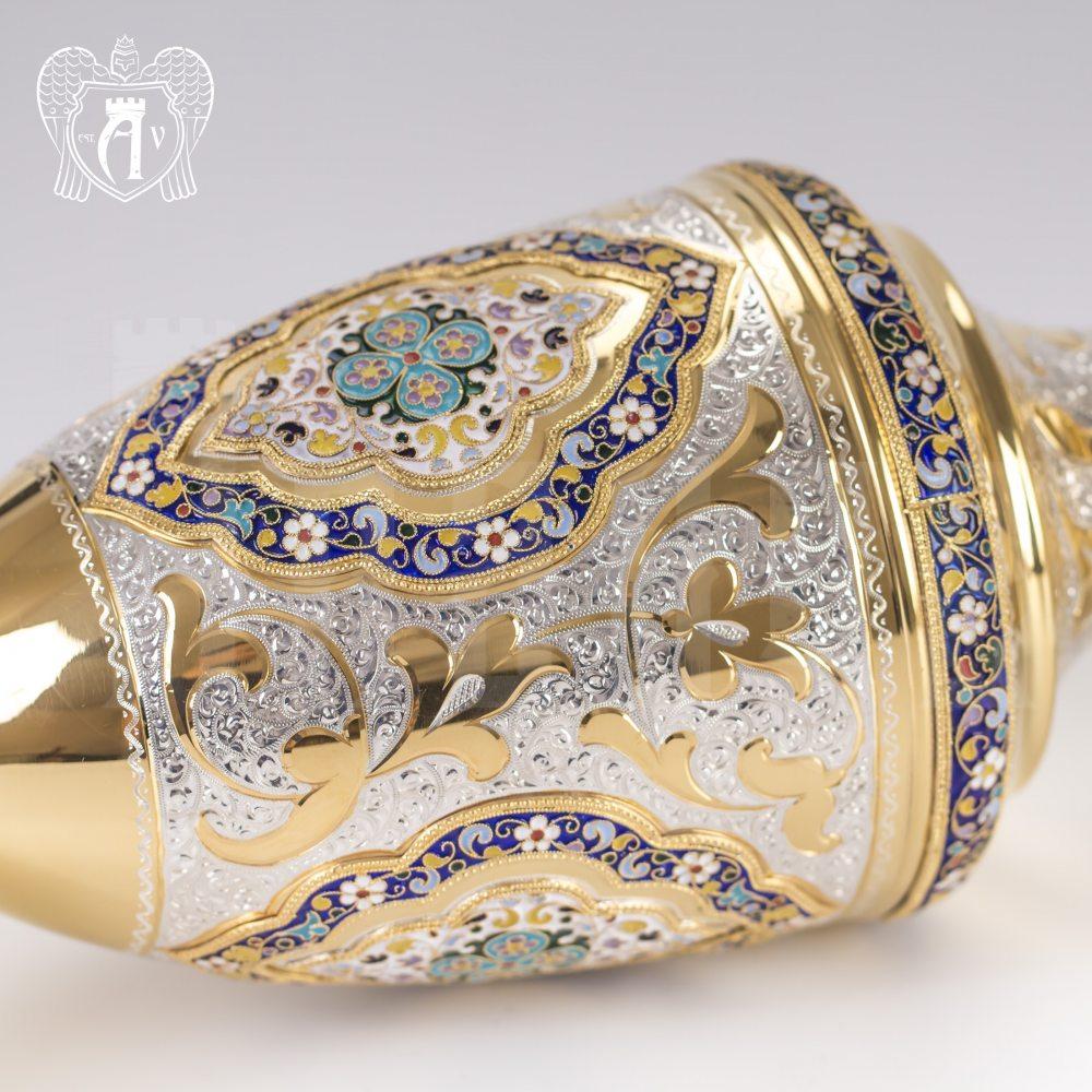 Ваза серебряная «Королевская» Апанде, 590001