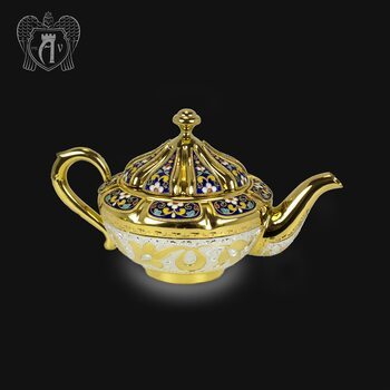 Чайник серебряный заварочный «Королевский»