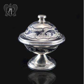Икорница серебряная «Дар»