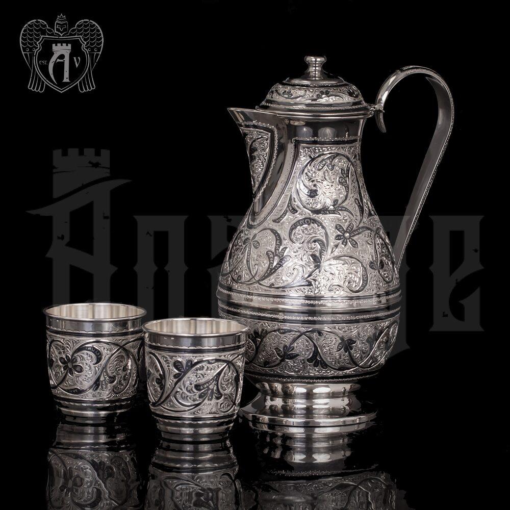 Сервиз серебряный «Мархарай» Апанде, 11100019