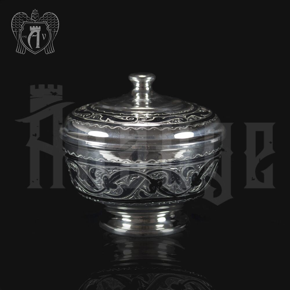 Серебряная вареньица «Чаепитие» Апанде, 380009
