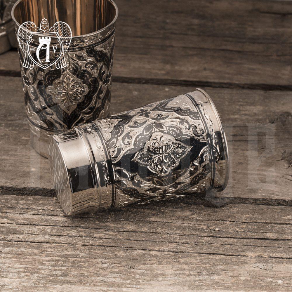Серебряный стакан «Раджа» Апанде,  71000427