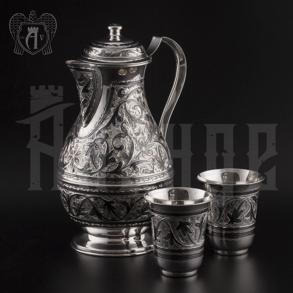 Серебряный сервиз «Виноградная лоза» Апанде, 11100056