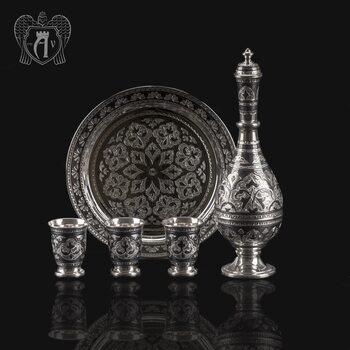 Серебряный сервиз «Шах»