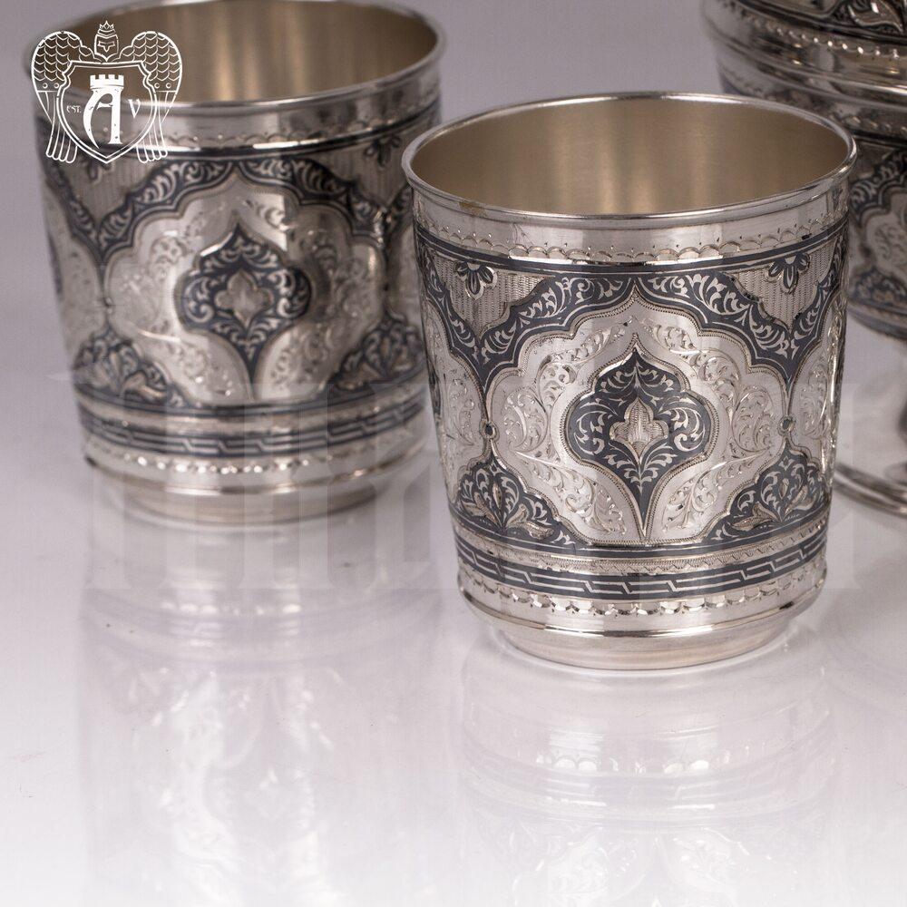 Стакан серебряный «Витязь» Апанде, 71000431