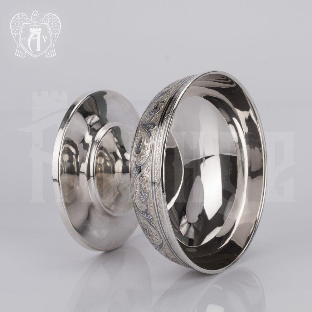 Серебряная вареньица\креманка «Чайная» Апанде, 340009