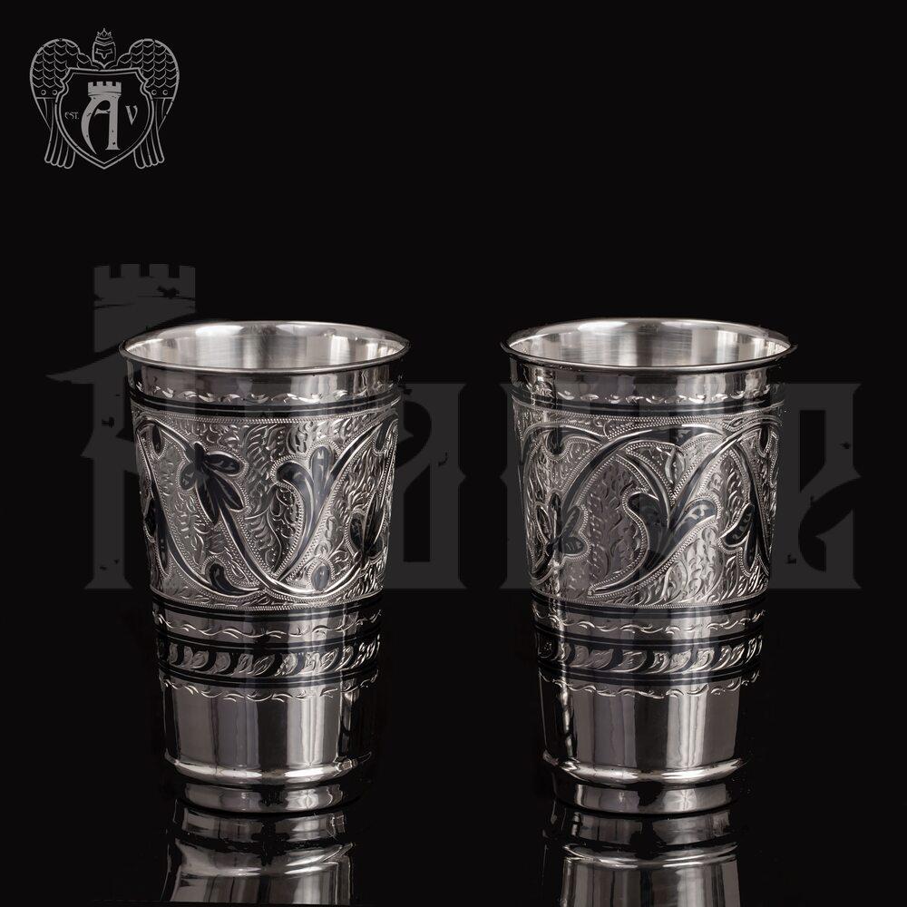 Набор серебряных стаканов «Цитадель» Апанде, 71000432