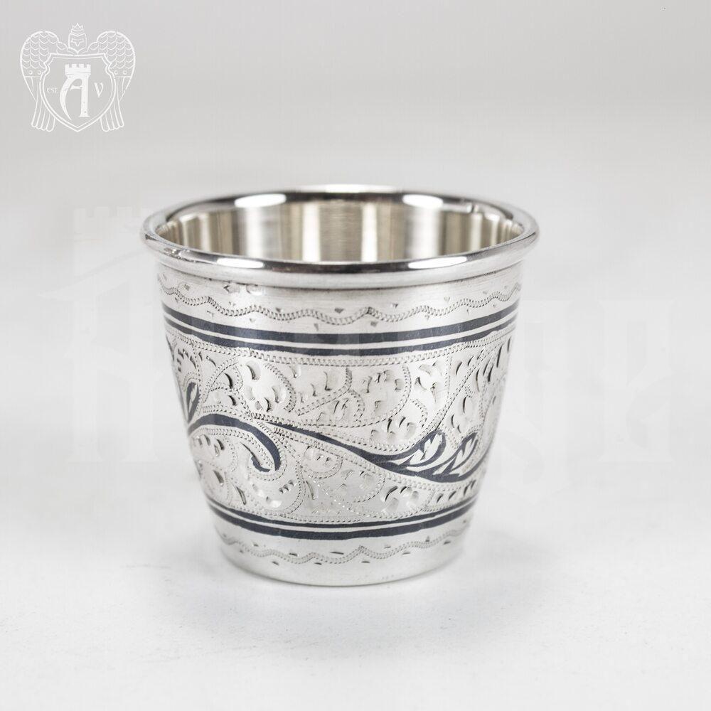 Серебряный сервиз для водки «Боярский» Апанде, 11100545