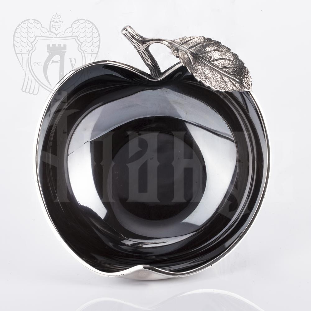 Серебряная конфетница / сахарница «Apple» Апанде, 350003143