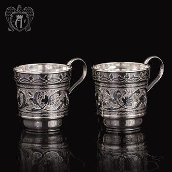 Набор серебряных кружек «Фордевинд»
