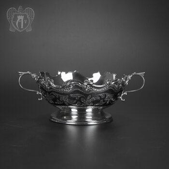 Серебряная сахарница \ конфетница « Николь»