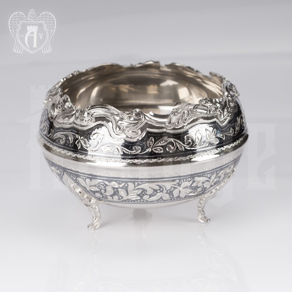 Серебряная вареньица\сахарница «Сеньора» Апанде, 350003147