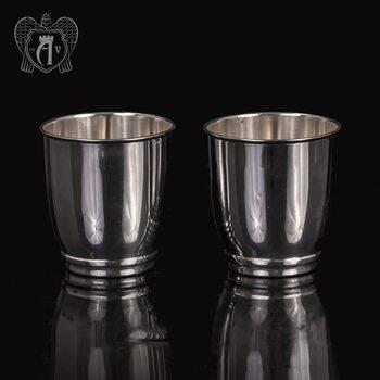Набор серебряных стаканов «Греджио»