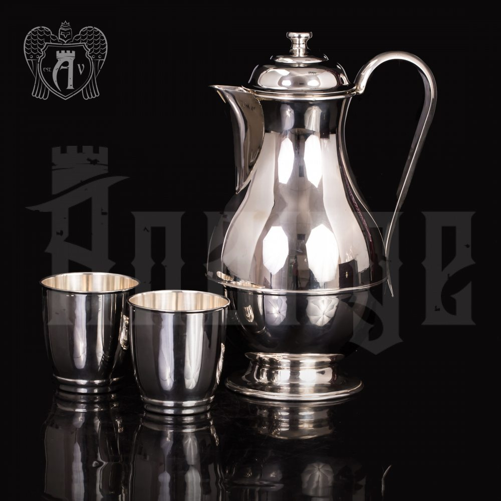 Набор серебряных стаканов «Греджио» Апанде, 71000433