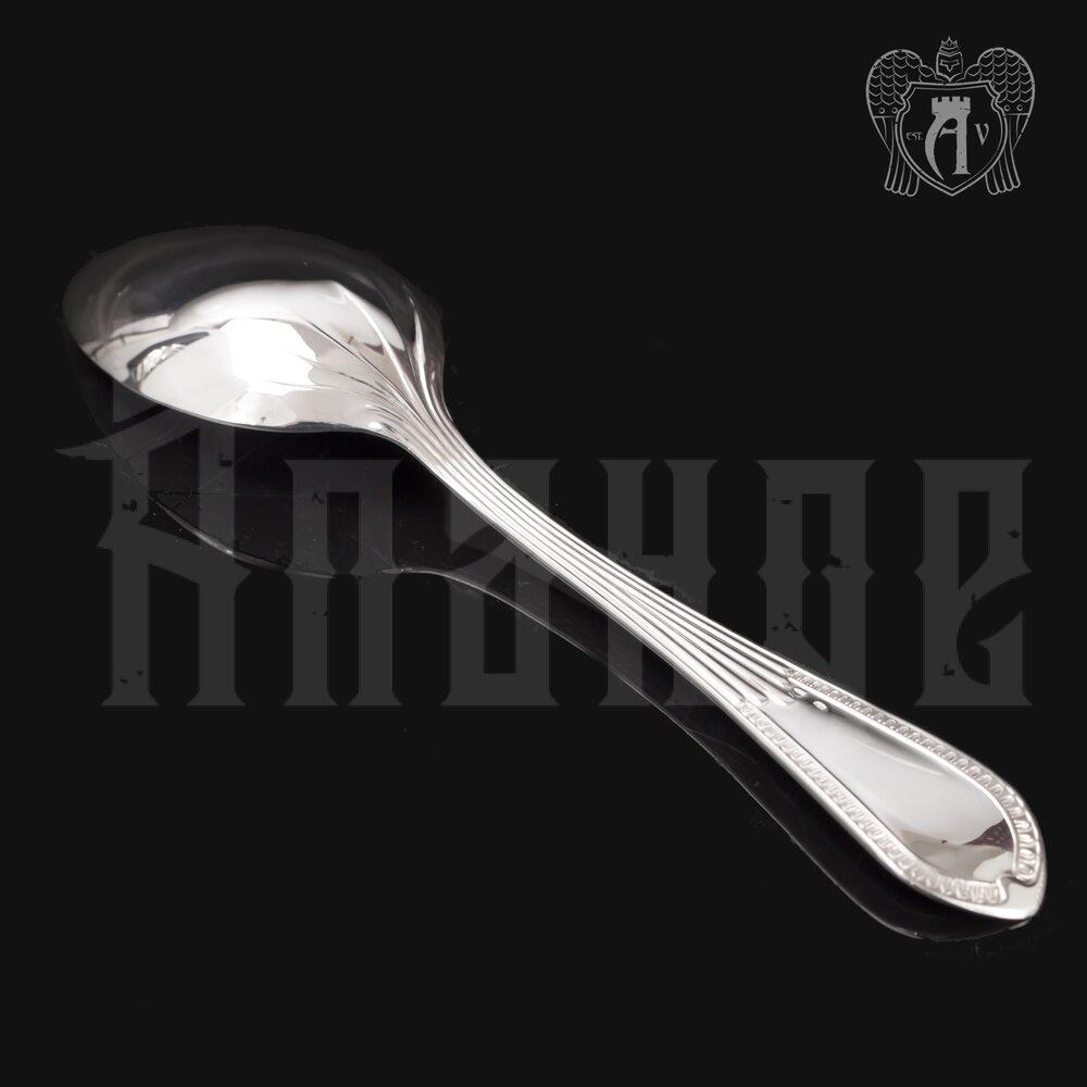 Столовый набор из серебра на 6 персон «Элегант» 18 предметов Апанде, 22000212-30
