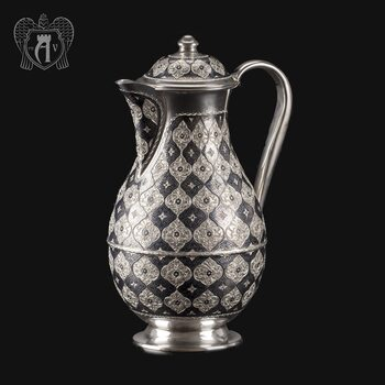Кувшин из серебра от производителя «Родной Дом»