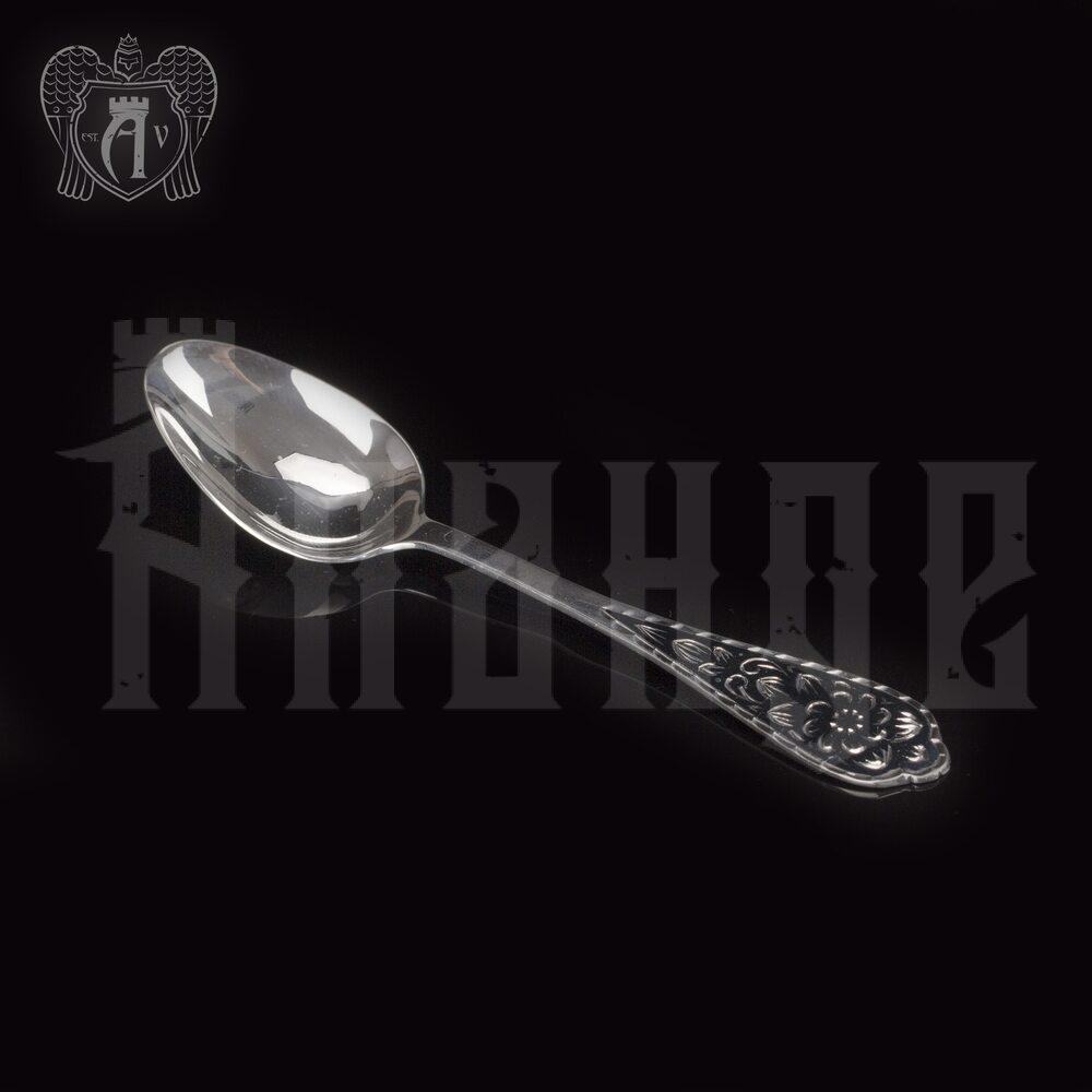 Серебряная чайная ложка  «Кубачинская» Апанде, 230001217
