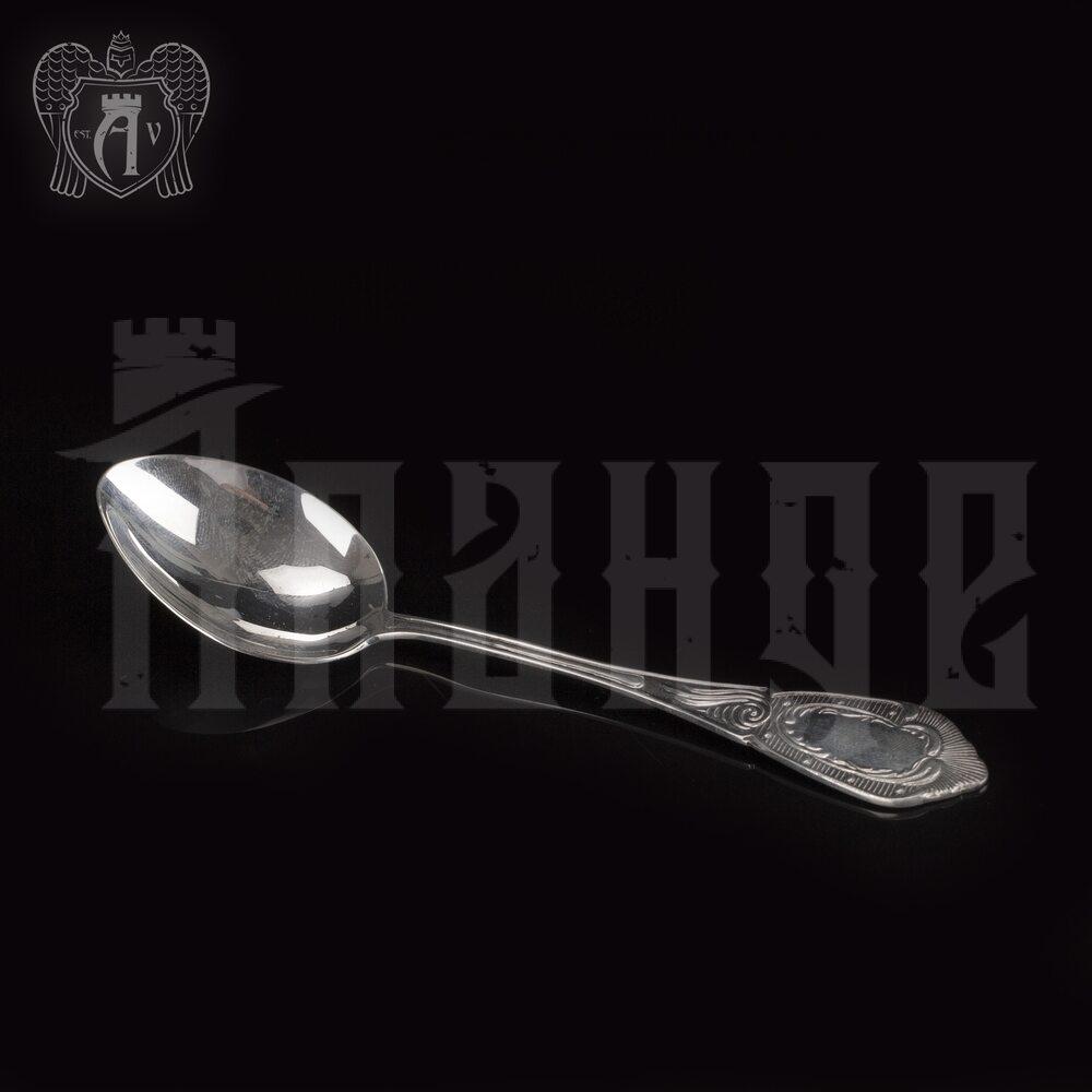 Серебряная чайная ложка  «Классика» Апанде, 230001217