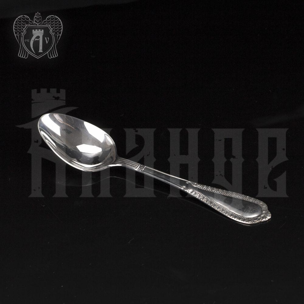 Серебряная чайная ложка  «Снежная королева» Апанде, 230001218