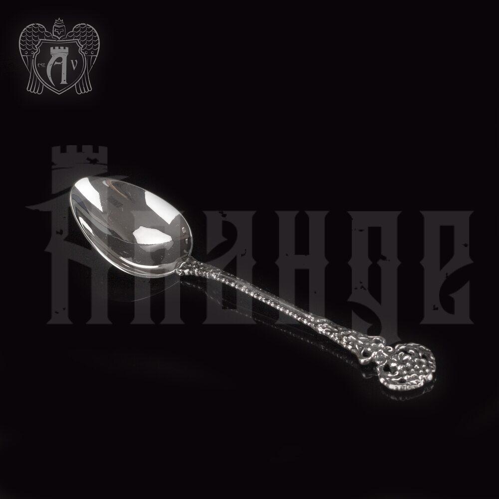 Серебряная чайная ложка  «Ажурная» Апанде, 230001221