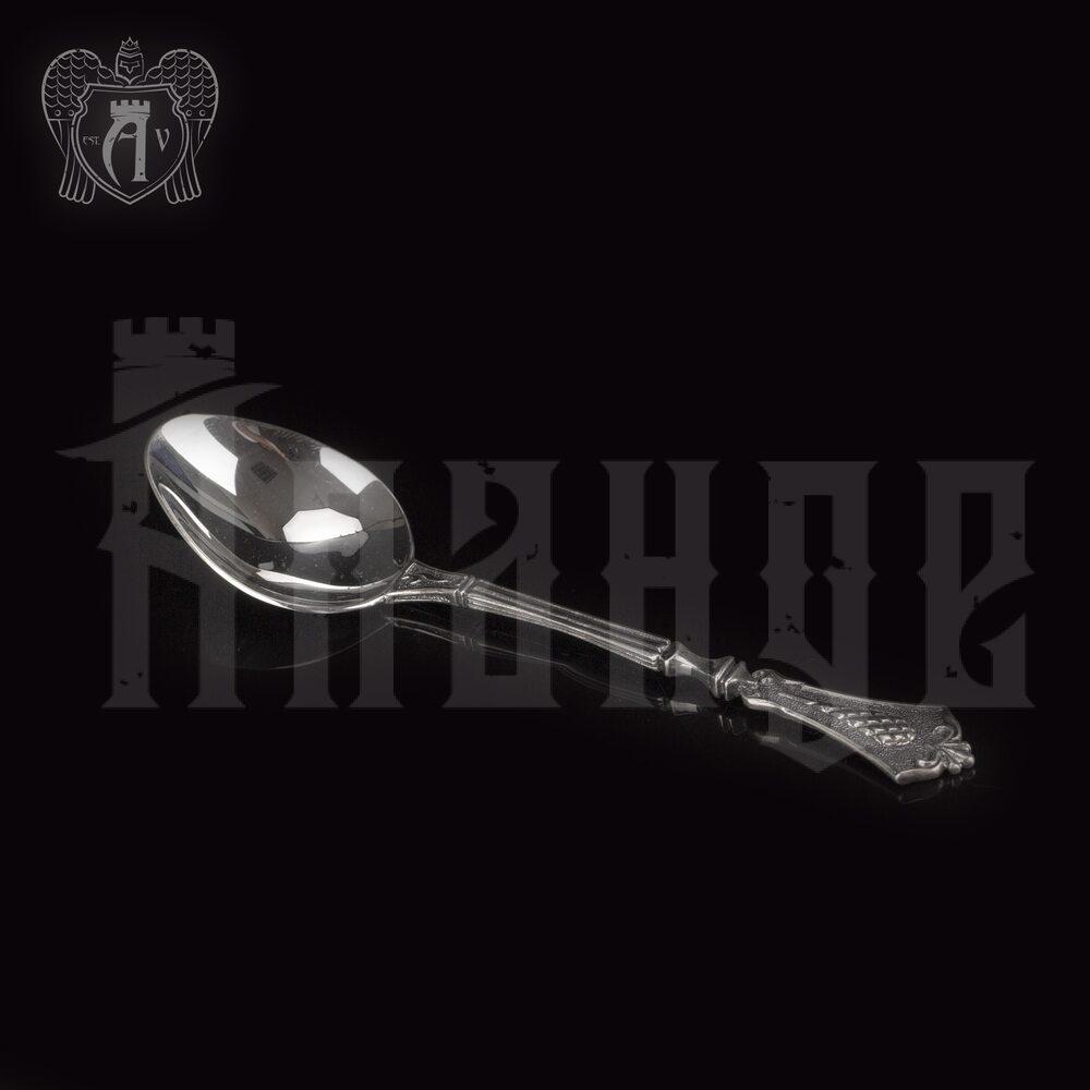 Серебряная чайная ложка  «Винтаж» Апанде, 230001220