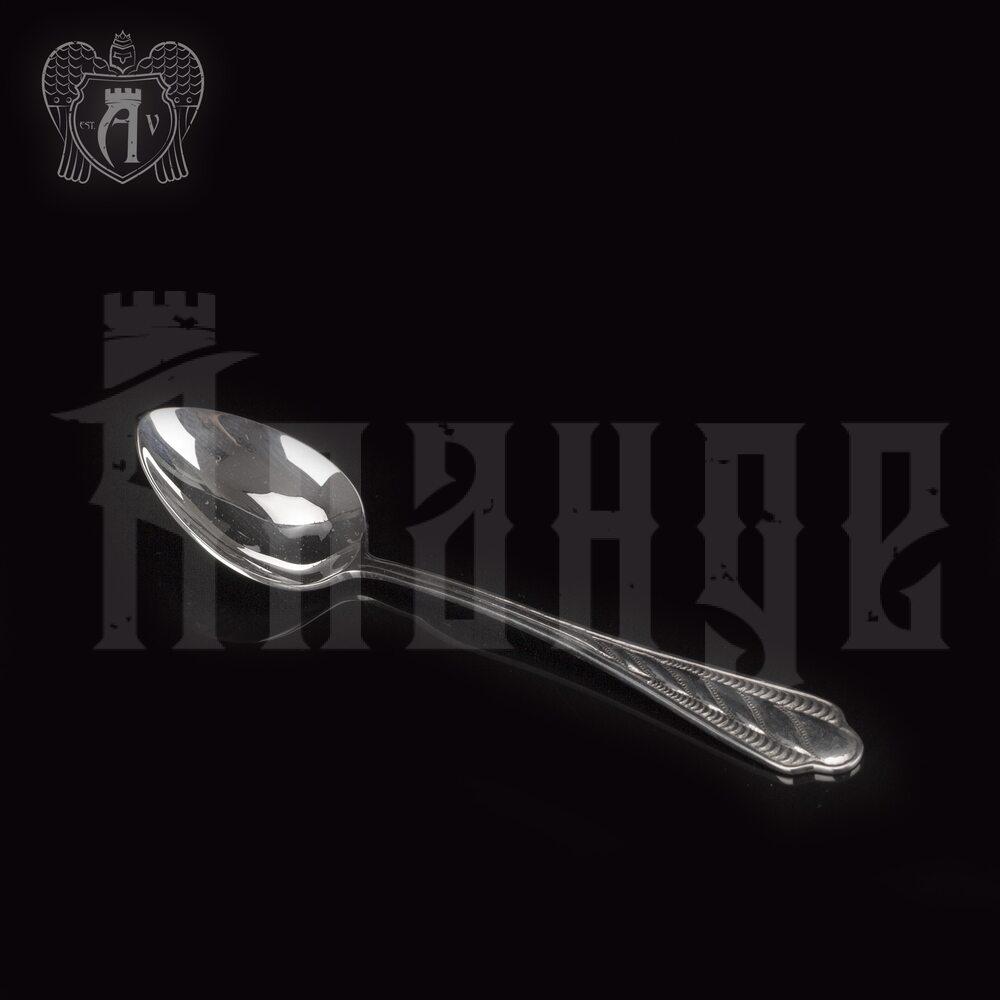 Серебряная чайная ложка  «Карина» Апанде, 230001222