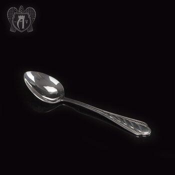 Серебряная чайная ложка  «Карина»