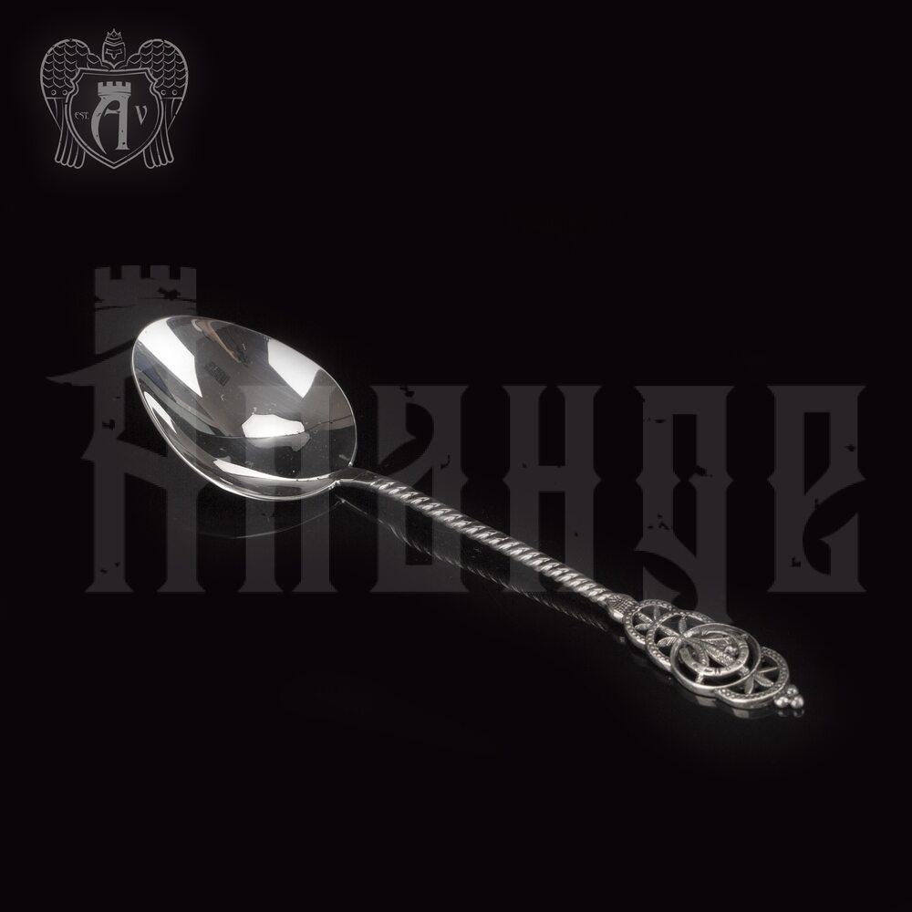 Серебряная чайная ложка  «Готика» Апанде, 230001223