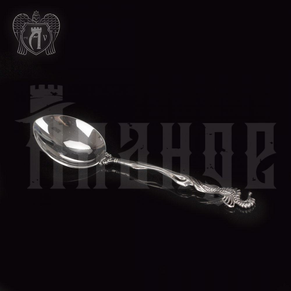 Серебряная чайная ложка  «Морской конек» Апанде, 230001224