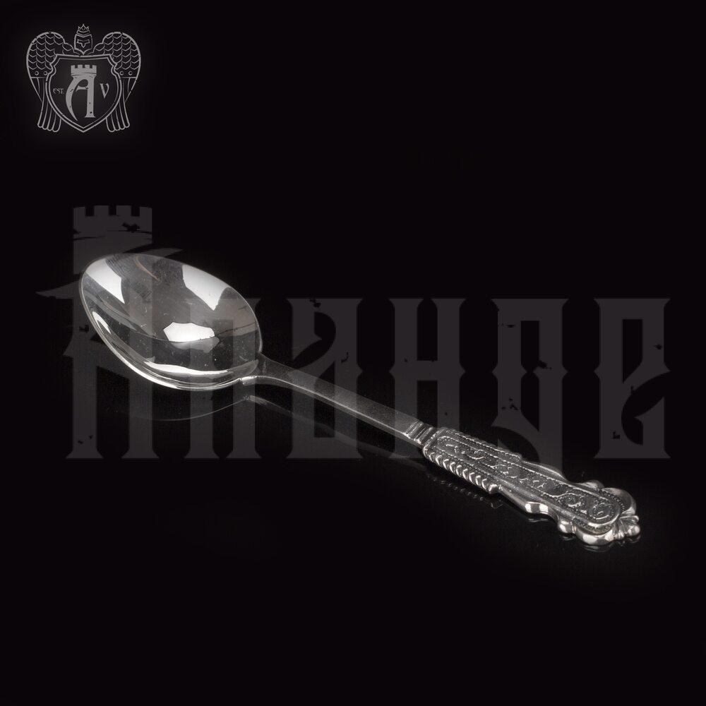 Серебряная чайная ложка  «Камила» Апанде, 230001228