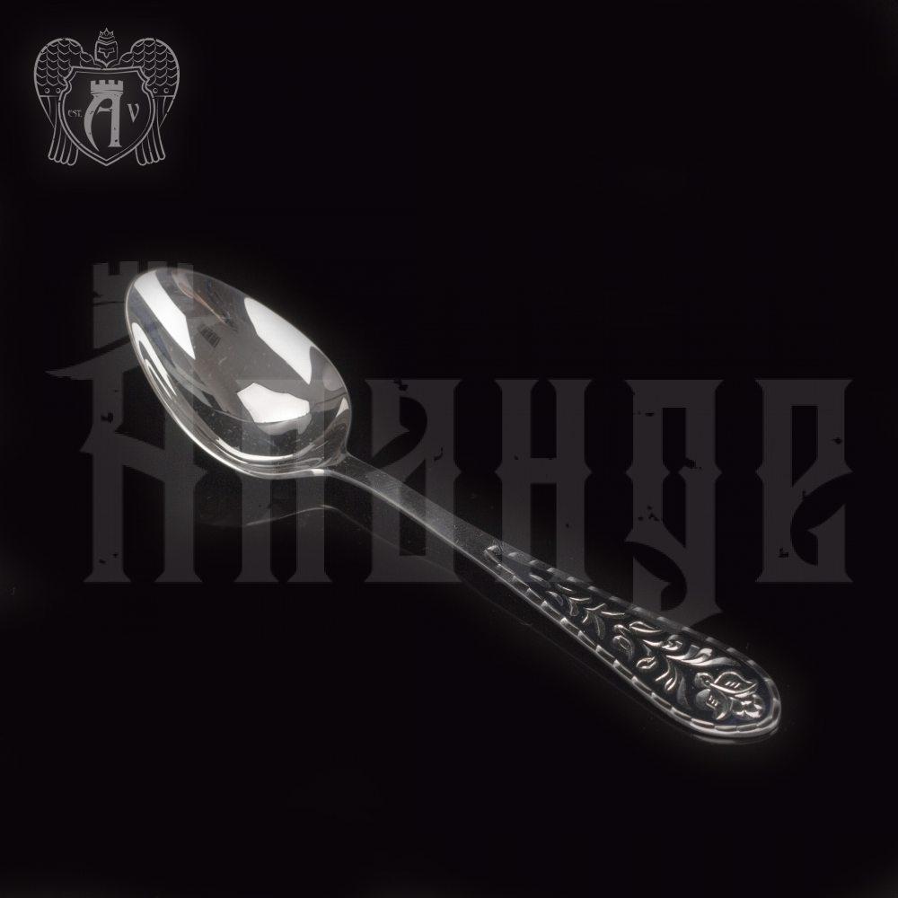 Серебряная чайная ложка  «Тюльпан» Апанде, 230001229