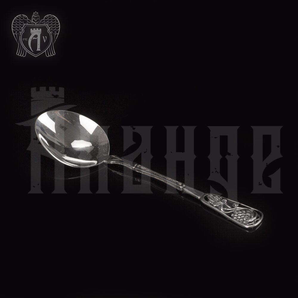 Серебряная чайная ложка  «Виноград» Апанде, 230001231