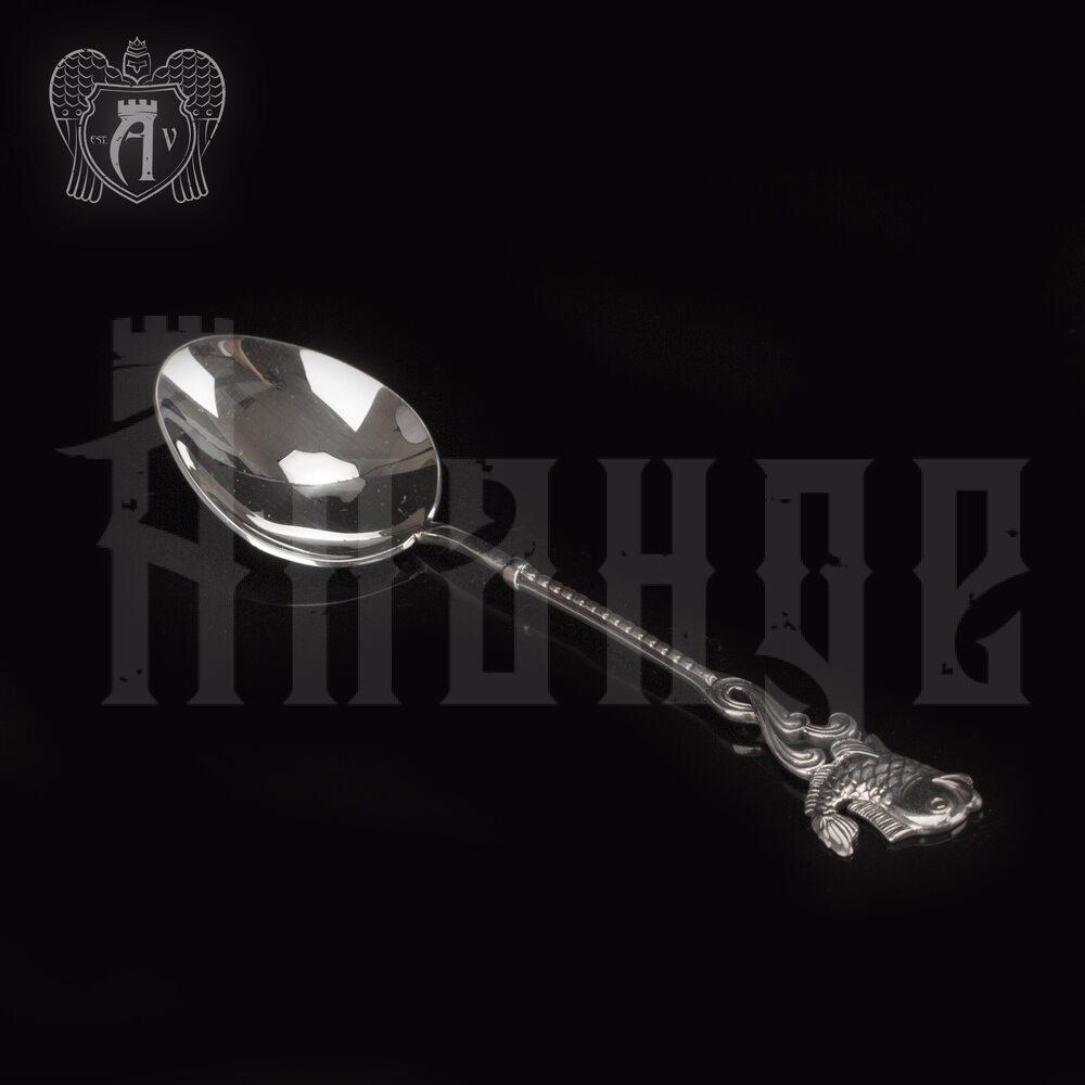 Серебряная чайная ложка  «Рыбка» Апанде, 230001233