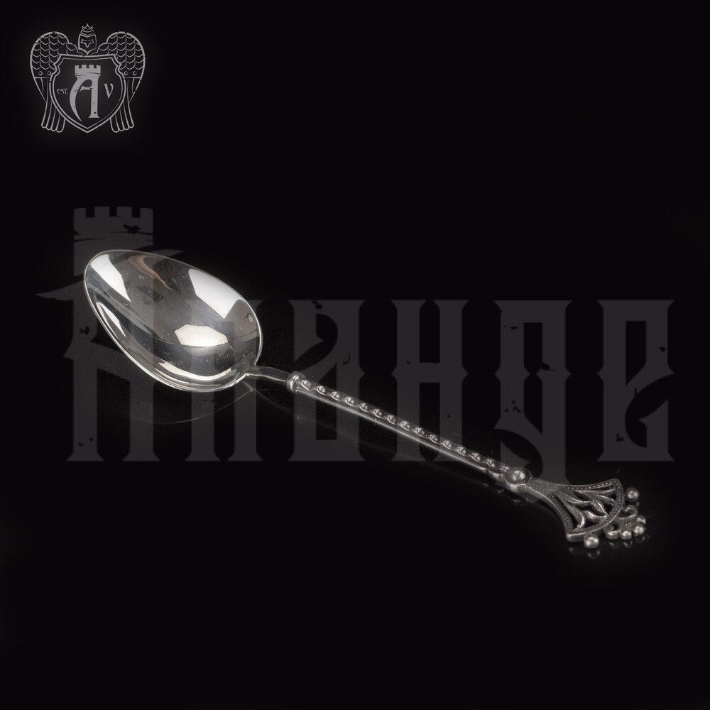 Серебряная чайная ложка  «Корона» Апанде, 230001234