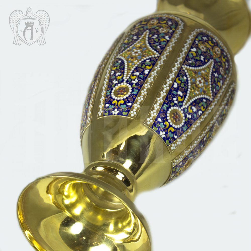 Ваза серебряная «Графиня» Апанде, 590002