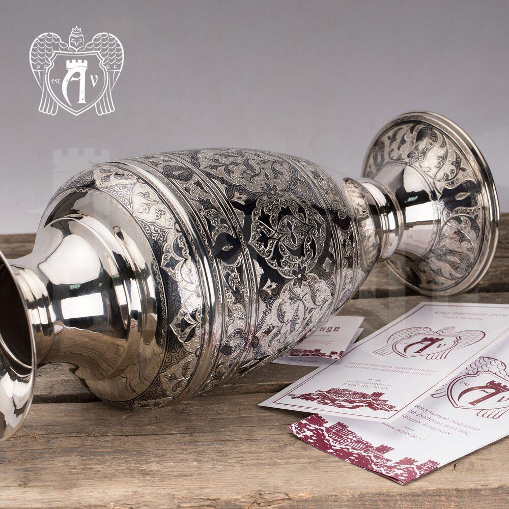 Ваза серебряная «Маркиза» Апанде, 590003