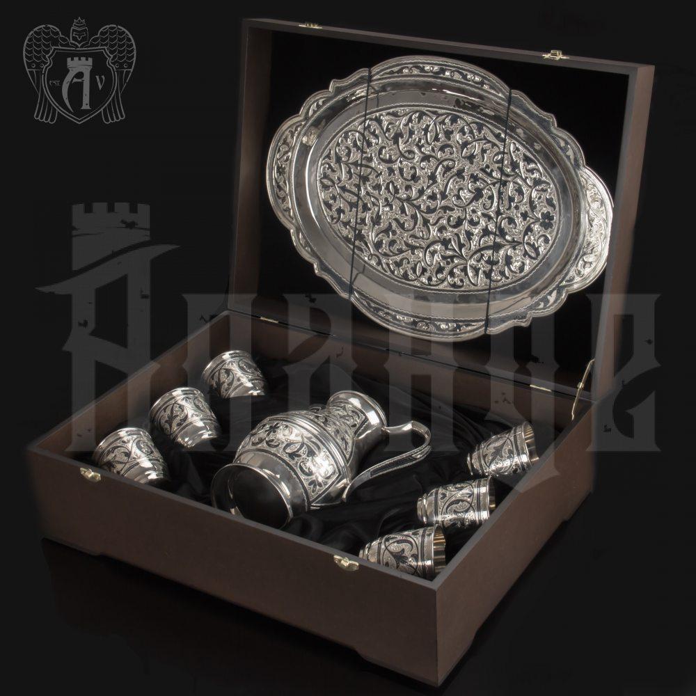 Набор для воды из серебра «Живая вода» Апанде, 1110006155