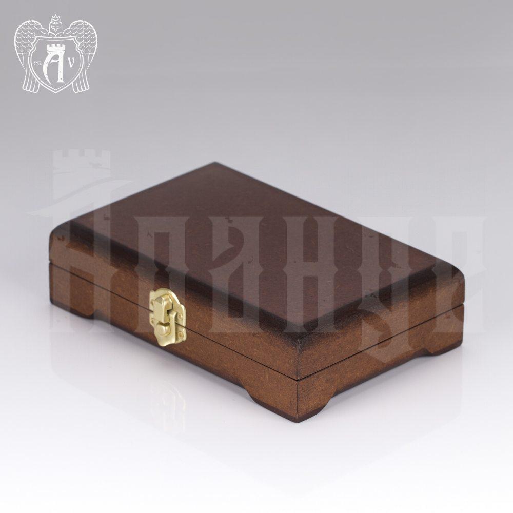 Кубачинские чайные ложки ручной работы «Элегант» комплект 6 шт Апанде, 24000210-7