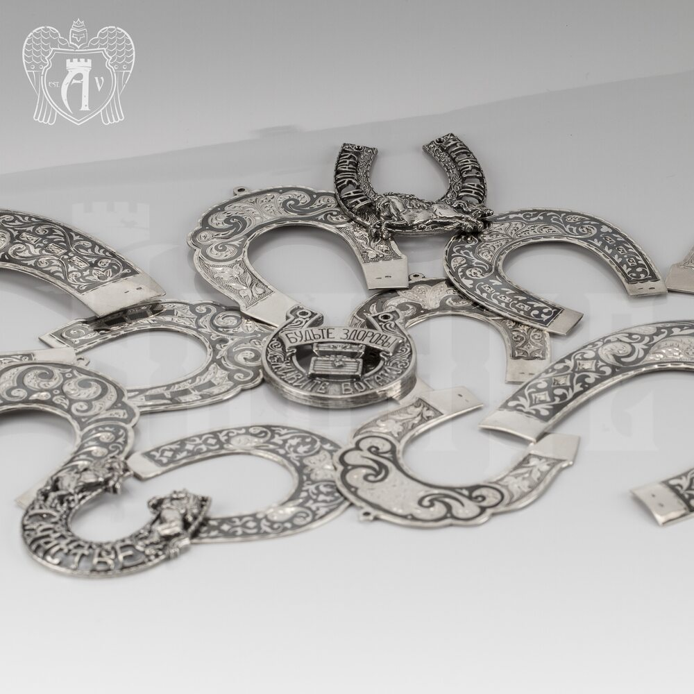 Серебряная подкова «На удачу» Апанде, 440005